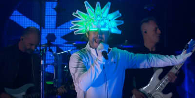 Jamiroquai are back. Watch their first US performance in over a decade.