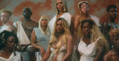 Munroe Bergdorf stars in this body-positive video from new U.K. singer Kamille