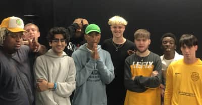 Watch N.E.R.D. perform with Brockhampton at Reading Festival