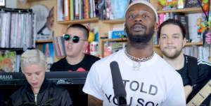 Watch GoldLink's NPR Tiny Desk Concert