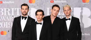 The 1975 take aim at male misogyny during 2019 BRIT Award acceptance speech