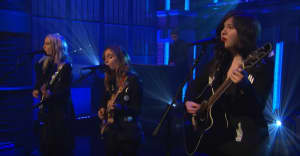 Watch boygenius perform live on Late Night with Seth Meyers