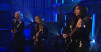 Watch boygenius perform live on Late Night with Seth Meyers