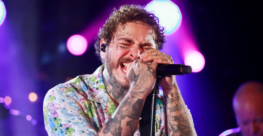 Watch Post Malone and BTS perform on Dick Clark's New Year's Rockin' Eve