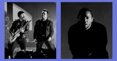 Listen to another song from U2 and Kendrick Lamar