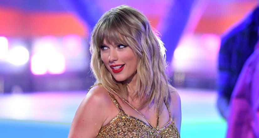 "Taylor Swift drops holiday track ""Christmas Tree Farm"""