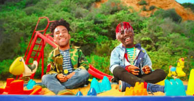 "Kyle And Lil Yachty Hit The Beach As Babies In The Video For ""iSpy"""