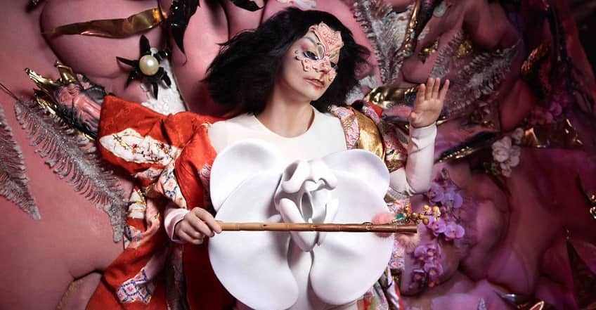 """Universe Auto Sales >> Björk transports viewers into another galaxy in """"Utopia"""" 