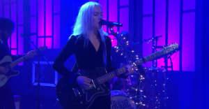 "Watch Phoebe Bridgers perform ""Motion Sickness"" on Conan"