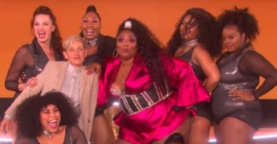 """Watch Lizzo perform """"Juice"""" on Ellen"""