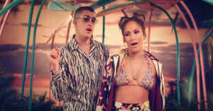 """Watch a trailer for Bad Bunny and Jennifer Lopez's """"Te Guste"""""""