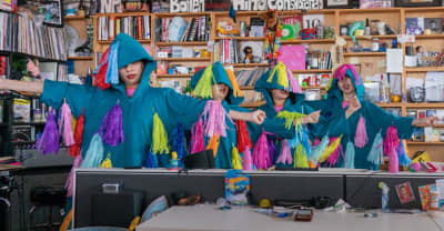 Watch CHAI's live-wire Tiny Desk Concert