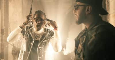 "Swizz Beatz shares ""25 Soldiers"" video featuring Young Thug"