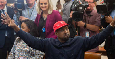 "Kanye West has reportedly designed ""Blexit"" apparel encouraging black voters to exit the Democratic Party"