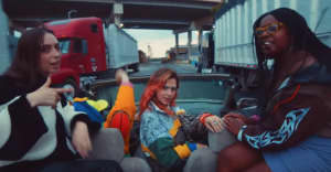 """Watch Deaton Chris Anthony, Clairo and Coco & Clair Clair's """"RACECAR"""" video"""