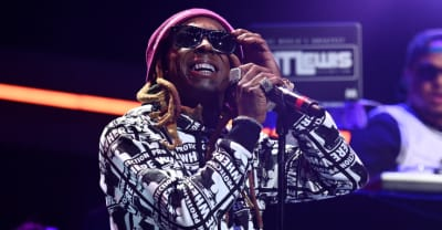 Watch Lil Wayne perform on Saturday Night Live with Halsey and Swizz Beats