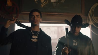 "AJ Tracey and Jay Critch storm down the wild wild west in new video for ""Necklace"""