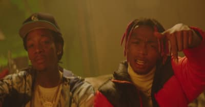 "Tyla Yaweh recruits Wiz Khalifa, Green Day's Billie Joe Armstrong for ""High Right Now"" remix video"