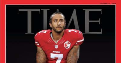 Colin Kaepernick Covers Time Magazine