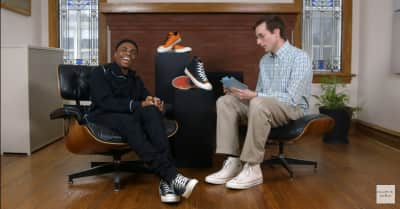 Watch Vince Staples discuss his new Converse collaboration