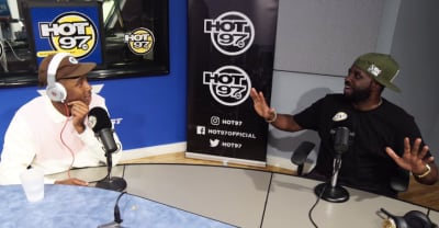Tyler, the Creator did a freestyle and a really long interview with Funk Flex