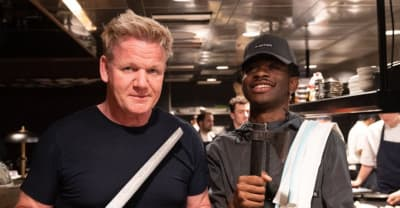 Watch Gordon Ramsay teach Lil Nas X how to make a panini