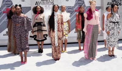 Beyoncé's Dancers Slayed The BET Awards Red Carpet
