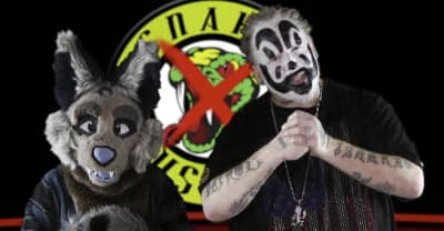 Violent J from ICP supports his furry daughter