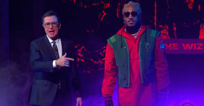 "Watch Future perform ""Crushed Up"" on The Late Show"