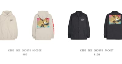 Kanye West unveils Kids See Ghosts merch