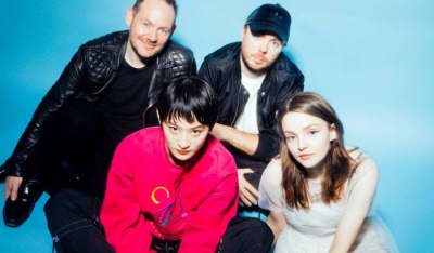 Hear CHVRCHES' new song with Wednesday Campanella