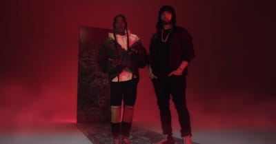 "Boogie and Eminem share ""Rainy Days"" music video"
