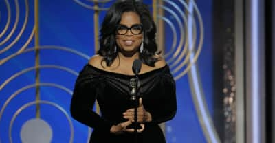 Oprah says her Golden Globes speech wasn't about running for president