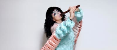 Björk has a slug genitalia-colored EP coming out