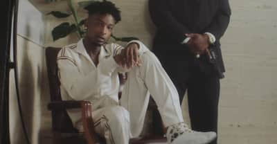 "21 Savage shares ""Bank Account"" music video"