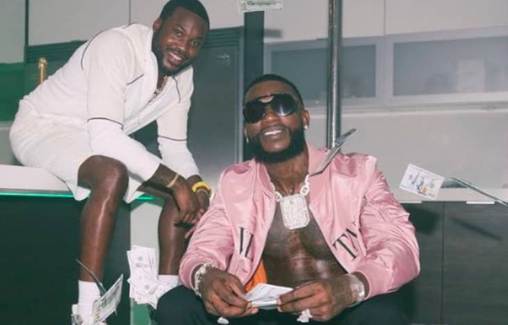 "Watch Gucci Mane and Meek Mill's new ""Backwards"" video 
