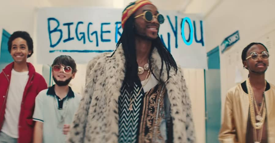 Flipboard 2 Chainz Drake And Quavo Are Problem Kids In The Bigger Than You Video