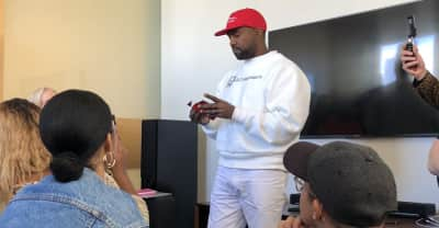 Here's what happened during Kanye West's visit to The FADER