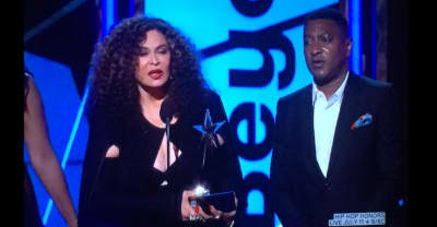 Tina Knowles Lawson Accepted Beyoncé's BET Video Of The Year Award And It Was Iconic