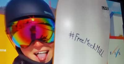 #FreeMeekMill hits the Winter Olympics