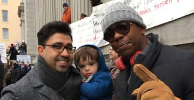Watch Dave Chappelle Speak At A Protest Against Donald Trump's Muslim Ban