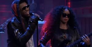 "A Boogie and H.E.R. perform ""Me and My Guitar"" on Fallon"