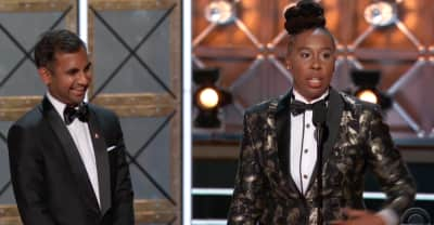 Master Of None's Aziz Ansari And Lena Waithe Win Emmy For Outstanding Writing For A Comedy Series