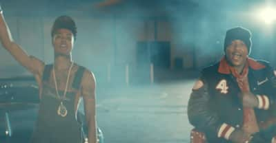 """Watch Blueface run the (football) game in the """"Thotiana Remix"""" video featuring YG"""