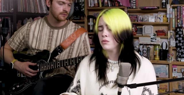 Watch Billie Eilish's NPR Tiny Desk Concert 1