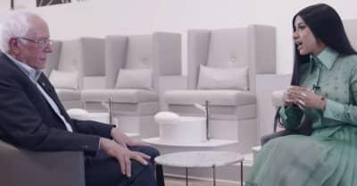 Watch Cardi B's full conversation with Bernie Sanders