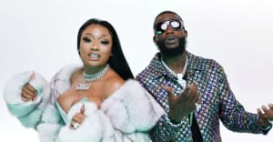 "Gucci Mane and Megan Thee Stallion team up for the ""Big Booty"" video"