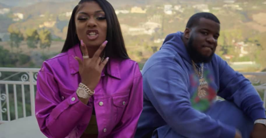 """Maxo Kream and Megan Thee Stallion find reality TV romance in the """"She Live"""" video"""
