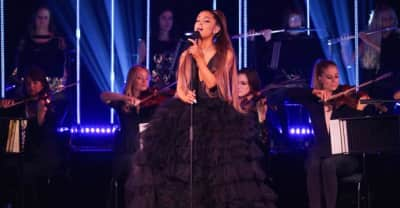 """Watch Ariana Grande perform """"Breathin"""" backed by an all-female orchestra"""