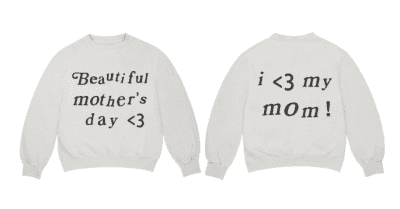 Kanye West's new sweatshirt costs $165 and will be super relevant in 364 days